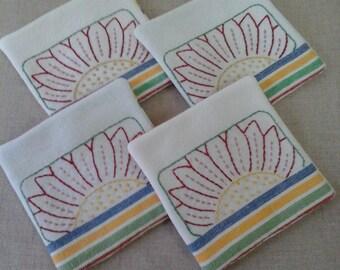 Tea Towel Coasters