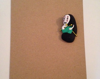 No Face Personalised Card
