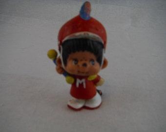 Monchhichi  Band Leader PVC Figure - Monchhichi Toy - Monchhichi Toy - Collectible Toy - PVC Toy - Monkey Toy - Gift for Child - Band Leader