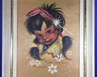 Monteague Little Wildflower Framed Print