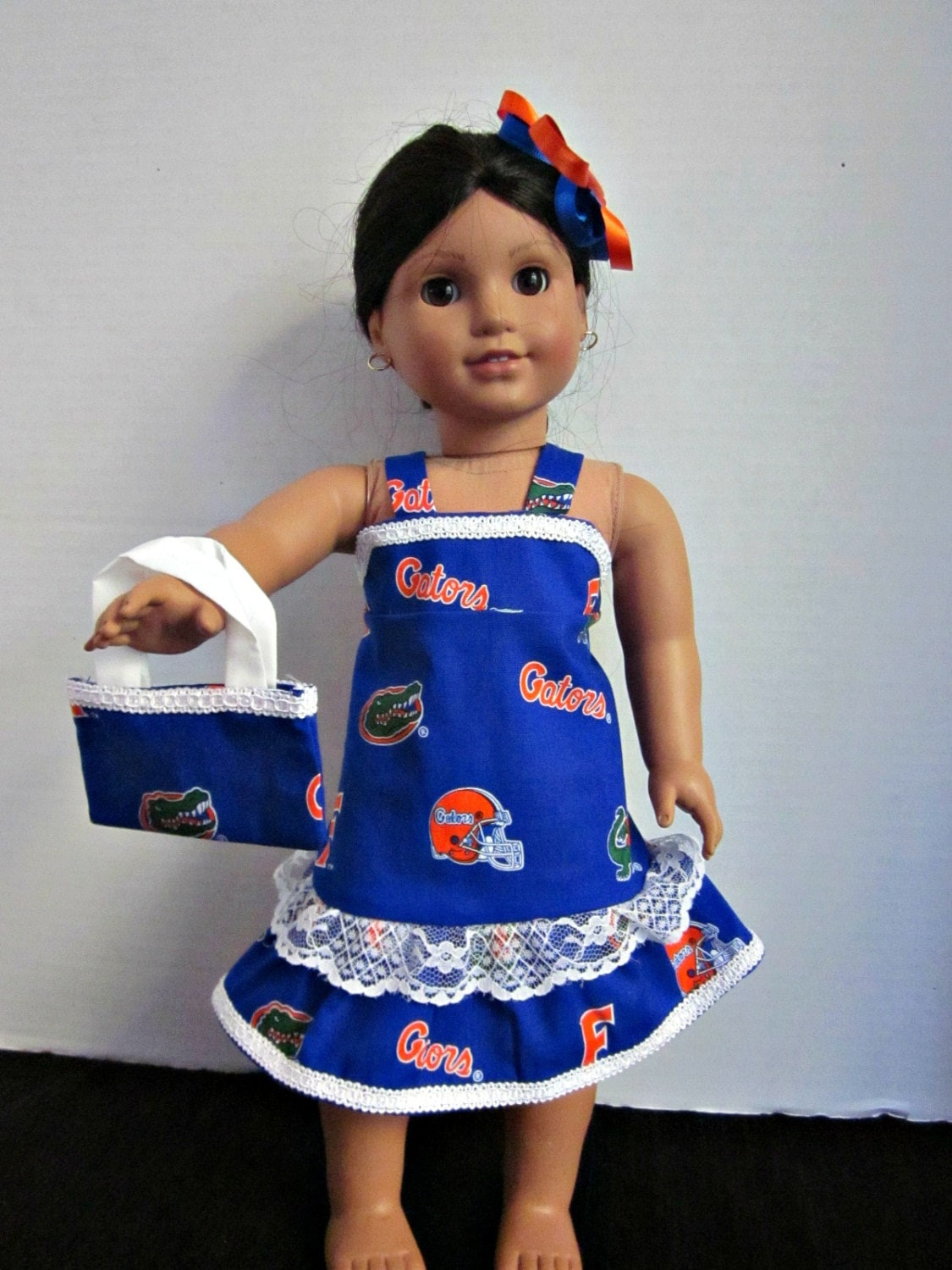 18 Inch Doll Clothes Custom Doll Clothes Florida Gators Doll