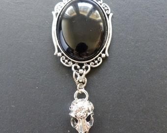 "Fantasy Onyx necklace ""Black night"""