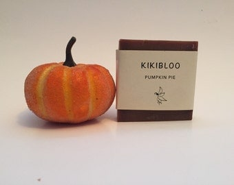 Pumpkin pie Soap Vegan Cold Process Soap By kikibloo