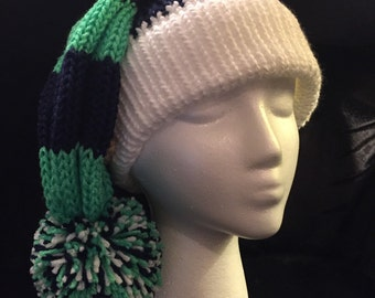 Sports theme slouchy hat