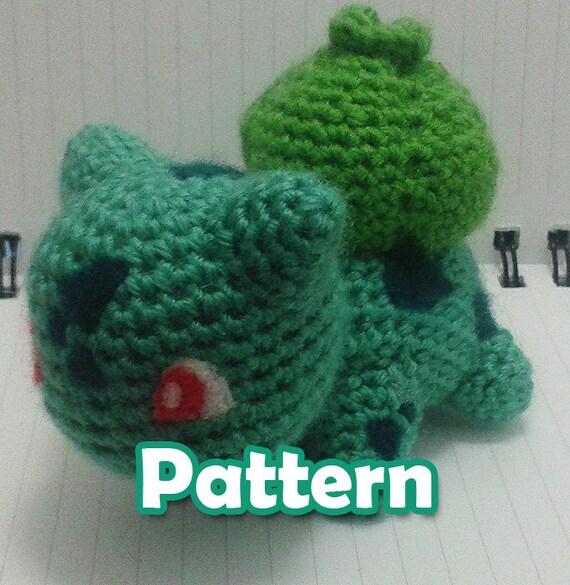 Items similar to Bulbasaur Pokemon Amigurumi Pattern on Etsy