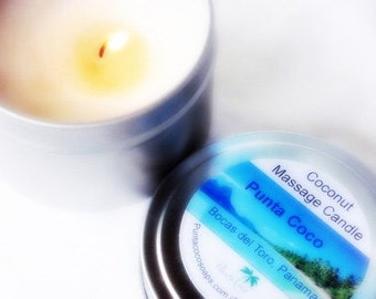 COCONUT MASSAGE CANDLE 3 in 1