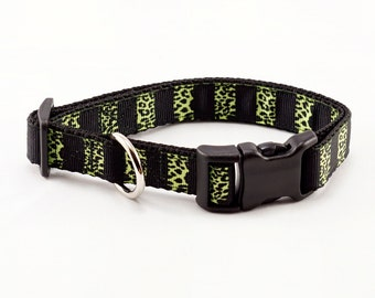 "Animal Instinct Dog Collar (3/4"" width) - Small - Medium"