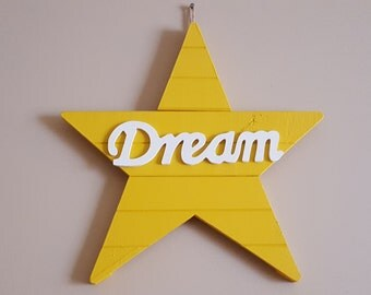 Dream star plaque
