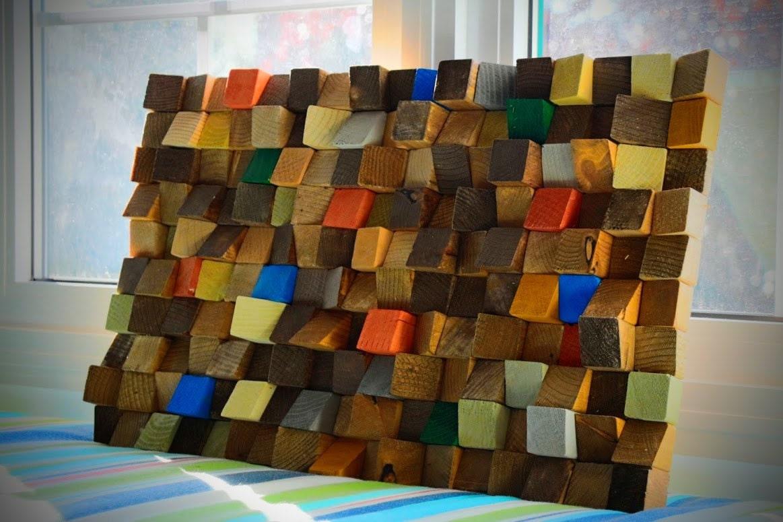 reclaimed wood wall art rustic wall art wooden art wall. Black Bedroom Furniture Sets. Home Design Ideas