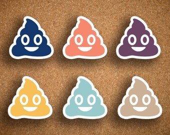 Inkwell Press Poop Icon Planner Stickers IWP-DCPE1