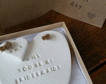 Will You Be My Bridesmaid Ornament ~ Maid of Honor ~ Bridesmaid Proposal ~ Bridesmaid Gift ~ Personalized Bridesmaid Proposal