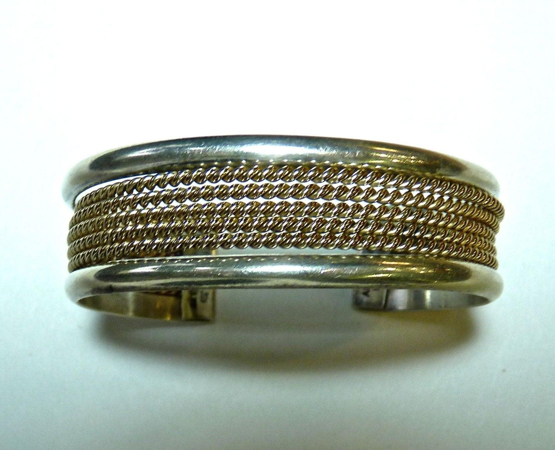 Bracelet cuff alvin toadacheene navajo silversmith for Custom jewelry albuquerque new mexico