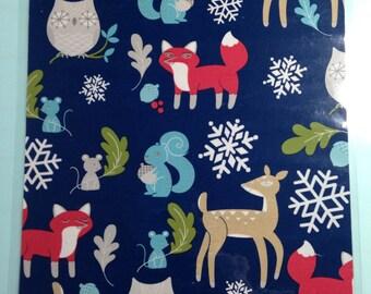 Winter animal dashboard