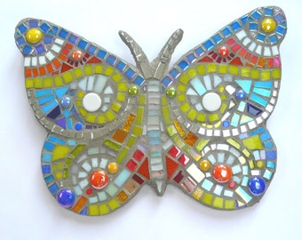 Mosaic Happy Starter Kit, includes tools- Butterfly#1, Butterfly #2 or  Dragonfly
