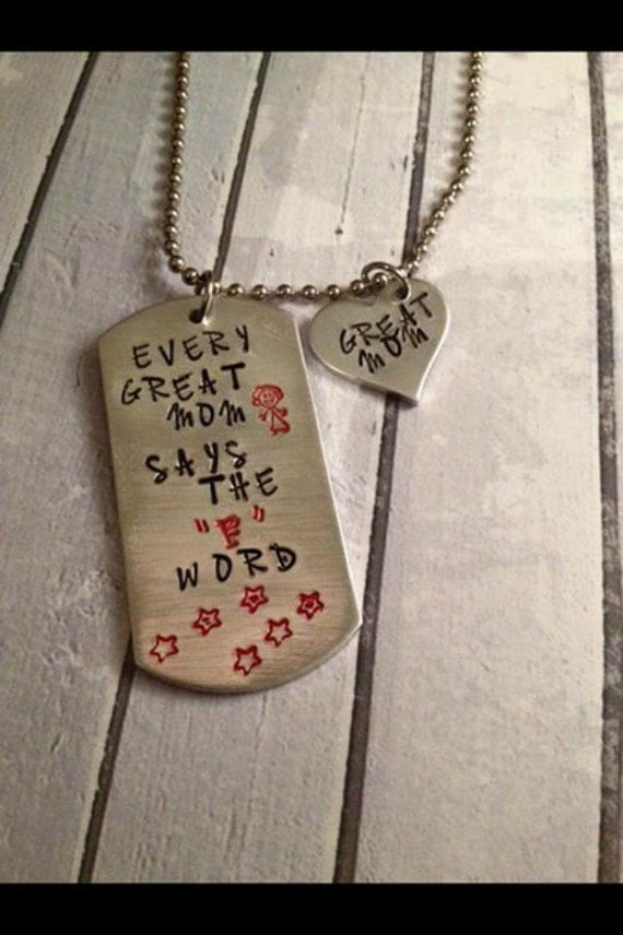 Baby Shower Gift Jewelry ~ Friend gift necklace baby shower funny new by