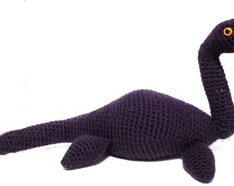 Purple Plesiosaurus Plushie