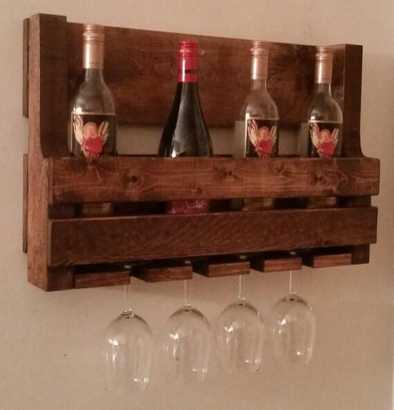 pallet wine rack pallet liquor cabinet rustic wooden. Black Bedroom Furniture Sets. Home Design Ideas