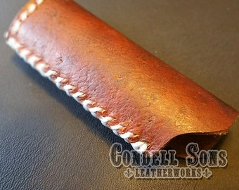 Dark brown lighter cover