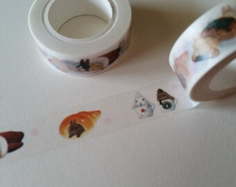 Cafe Bunnies Washi Tape