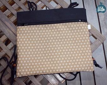 Japanese fabric backpack bag