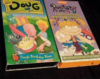 Classic 90's Cartoon VHS Movies
