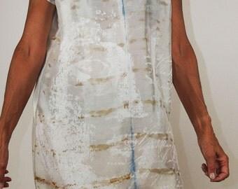 Silk dress MORNING MIST (19)