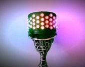 FREE SHIPPING! Light-up Addressable LED Marching Band Hat. Burning man hat.
