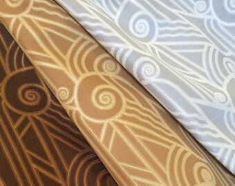 "Art Deco ""Volute"" Fabric"