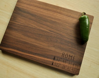 Personalized Cutting Board - Engraved Cutting Board, Custom Personalized Wedding Gift, Housewarming Gift, Anniversary, Christmas Gift