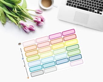 OUTLINED Event Planner Stickers - CAM00204