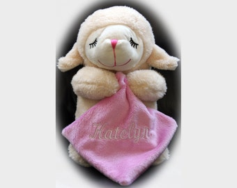 Personalized Prayer Pal Lamb