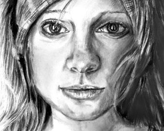 Pencil Portrait Sketch