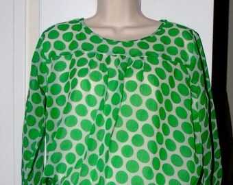 US Size 6 1970s Top