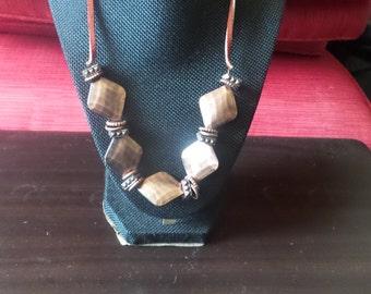 Brown Bronze Necklace