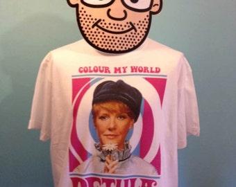 Petula Clark 60s Pop Music T Shirt - White Shirt