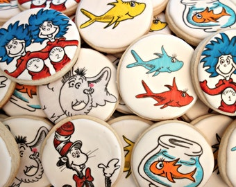 Dr. Suess Inspired Cookies