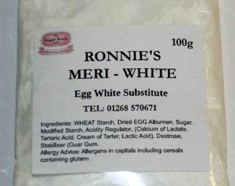 Meri - White 100g Egg Substitute, Royal Icing, Meringues