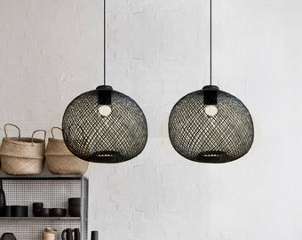 Modern Dining light-rustic chandelier-wood chandelier-wood pendant light-kitchen lighting-kitchen light-wood lampshade-rustic chandelier