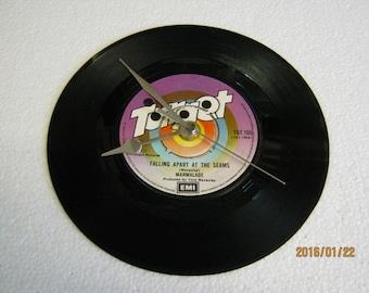 """Marmalade - """"Falling Apart At The Seams"""" Record Wall Clock"""