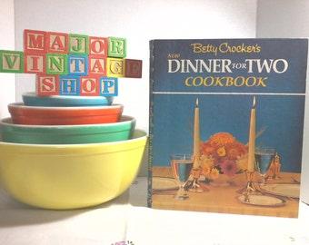 """Betty Crocker's """"Dinner for Two"""" Cookbook"""