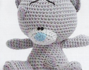 Cute Character Teddy Bear Crochet Pattern only Natura Just cotton Yarn