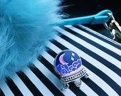 Crystal ball Enamel Pin // mystic pin // enamel pins // backpack pin
