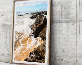 Beach Photography Print - Dynamic Is The Ocean - Photographic Art, Beach Art Print,  Photographic Print, Beach Art Print, Photo Print