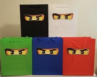 Ninjago Favor Bags