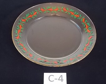 Plate with Holly Berries