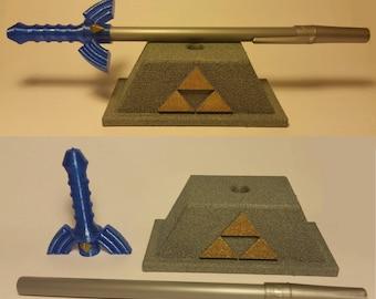 Master Sword Pen - Masterpen and Pedestal
