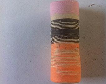 SALE Coloured Stoneware Vase
