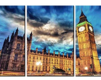 Canvas wall art canvas print Big Ben London2