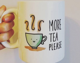 Coffee Mug - Tea is my cup of tea