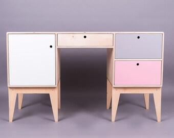 wooden desk / vanity table FUSS
